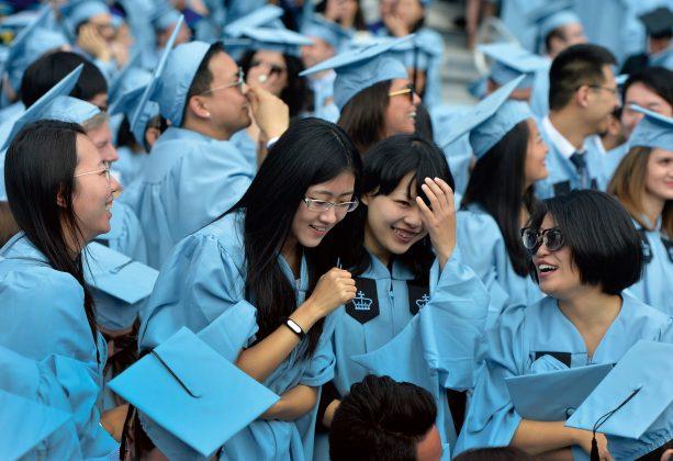 kinų studentai