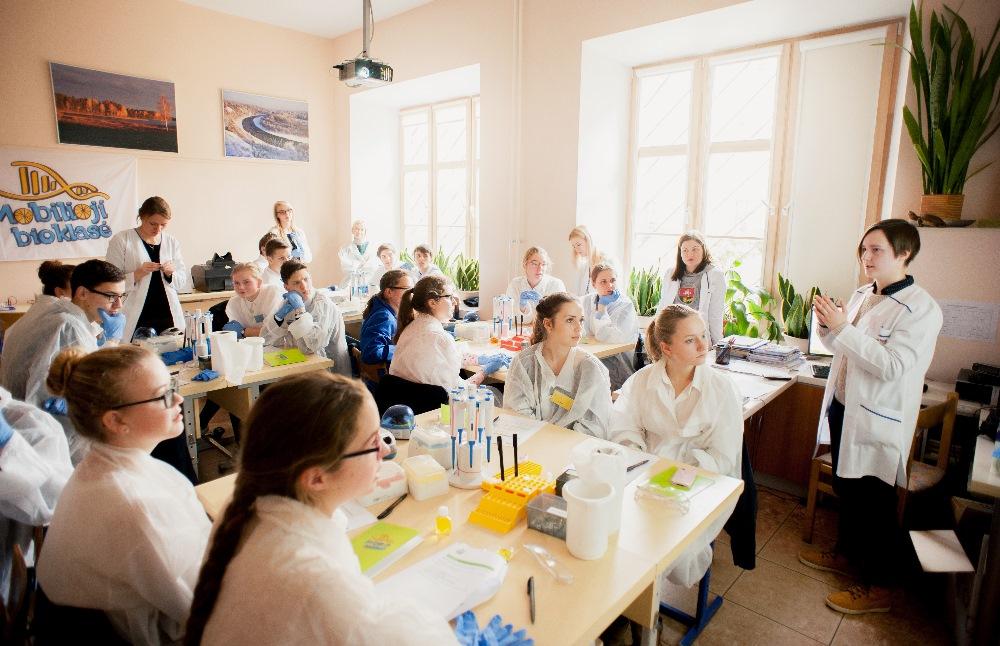 Gamtos pamokos mokykloje